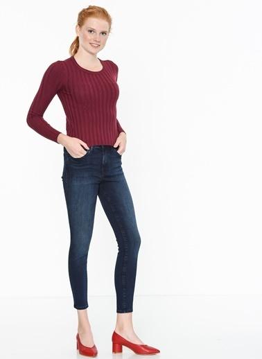 Mavi Kadın  Uzun Kol Triko 170791-24380 Bordo
